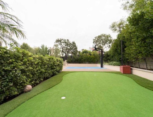 Putting Green and B-Ball Court